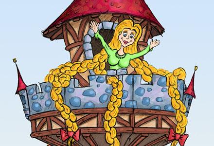 Rapunzelturm ・ Rapunzel Tower