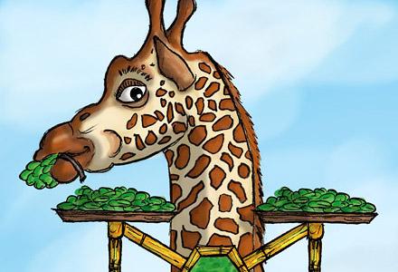 Giraffenturm ・ Giraffe Tower