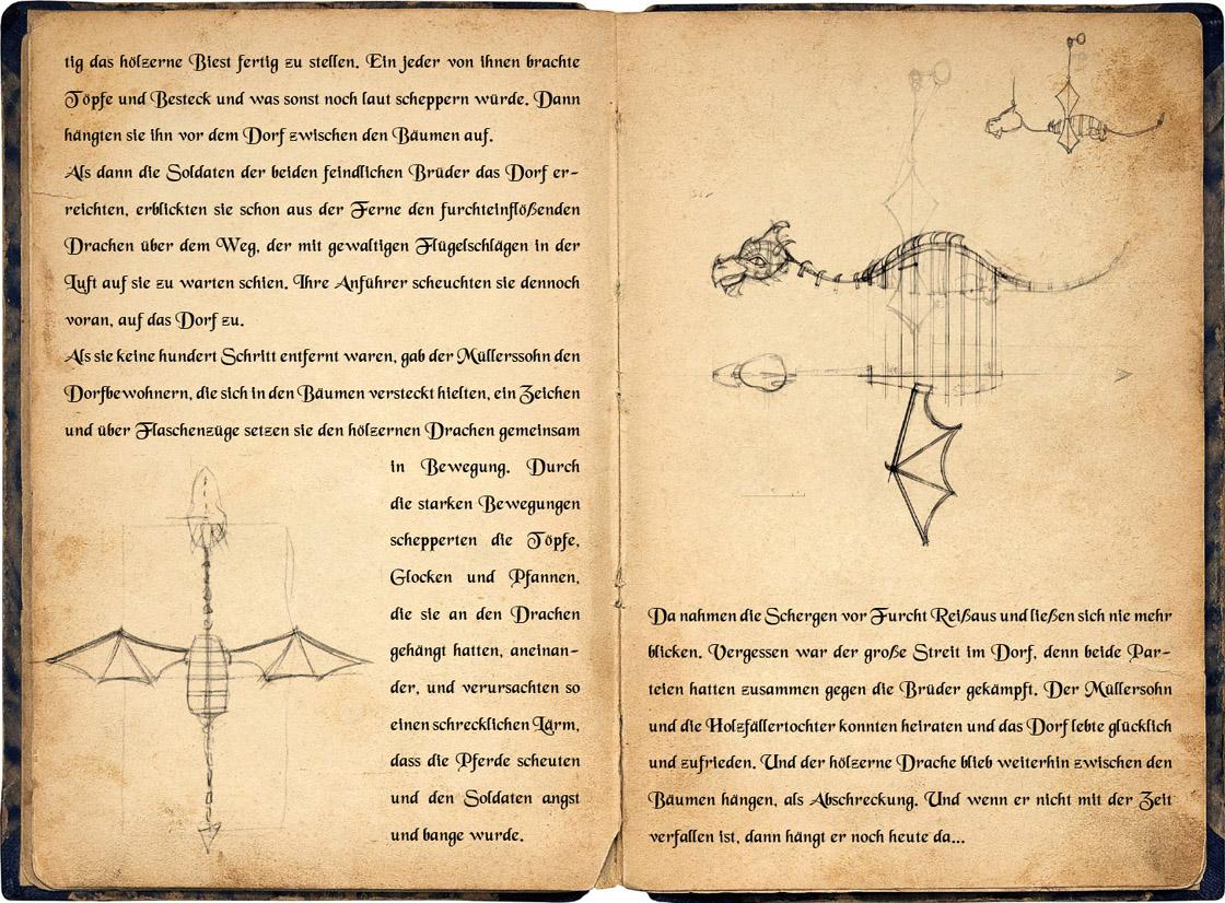 Legende des Hölzernen Drachen - Storyline