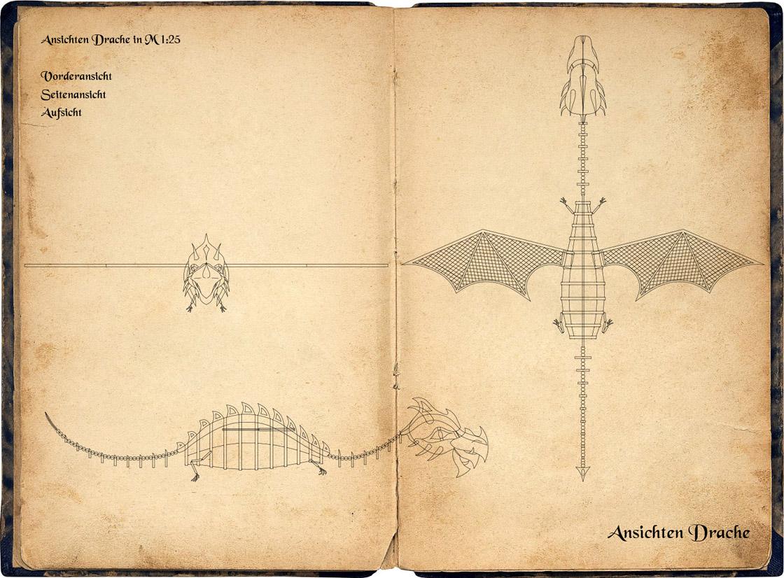 Legende des Hölzernen Drachen