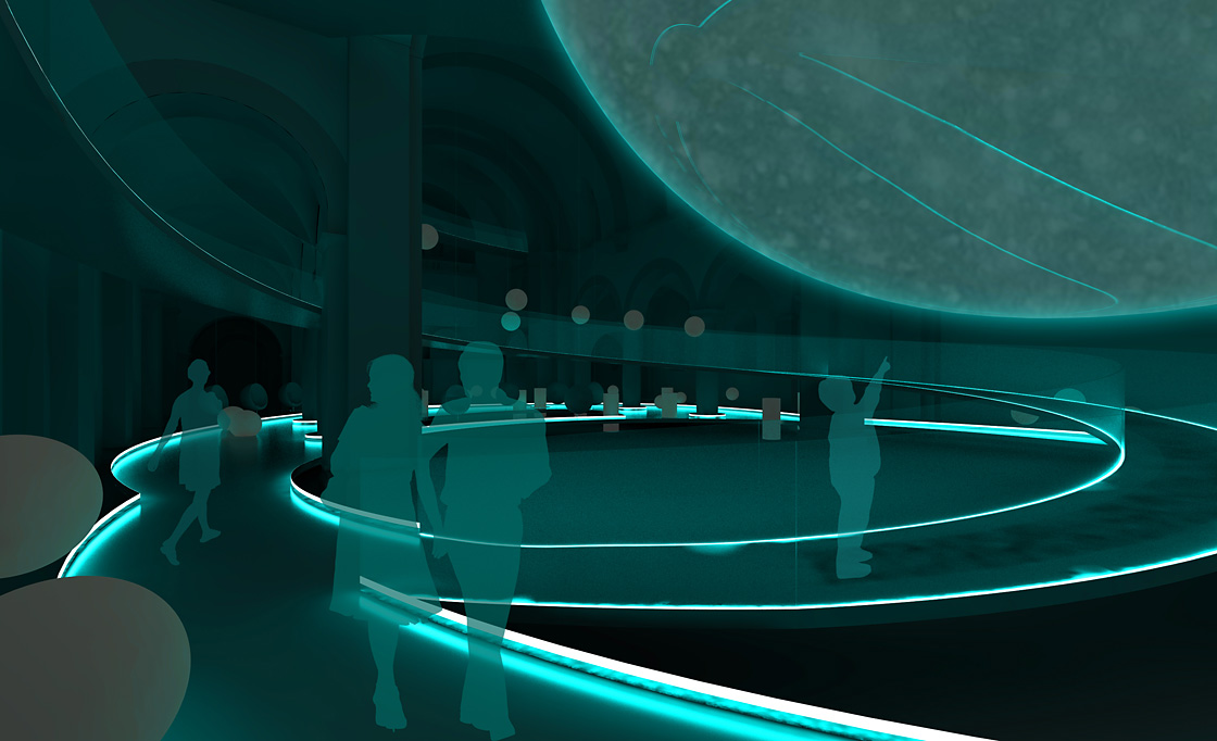 Planetarium Exhibition Design