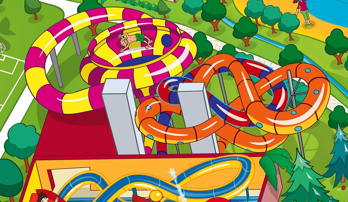 Schloss Dankern Parkplan Spaßbad