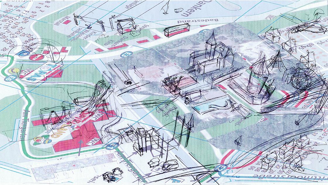 Schloss Dankern Parkplan