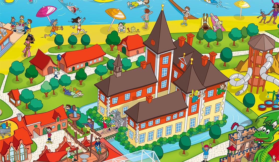 Schloss Dankern Parkplan - Park Map Design