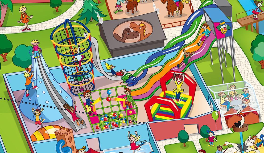 Schloss Dankern Parkplan Park Map Design on Playground Floor Plan Design
