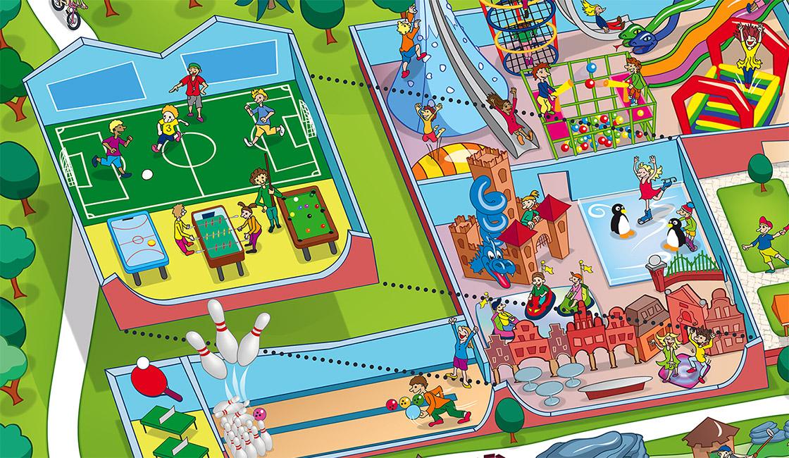 Schloss Dankern Parkplan Indoor Spielplatz