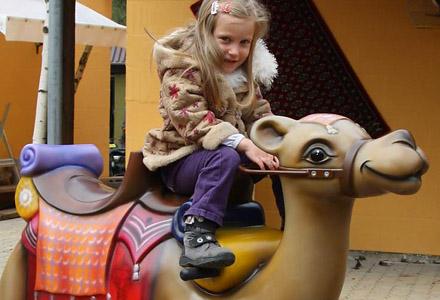 Kamelreitbahn ・ Camel Riding