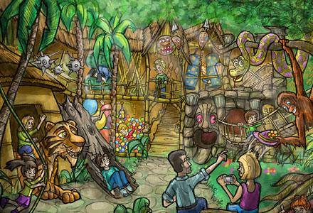 Tahiti Jungle Trail – Indoor Playground ・ Indoor Spielplatz
