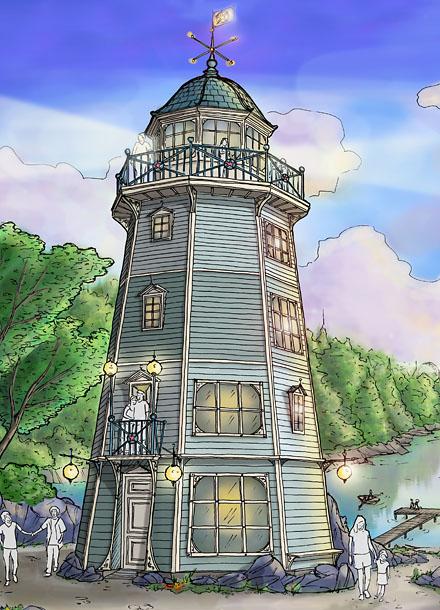 Leuchtturm Ferienhaus ・ Lighthouse Vacation Home