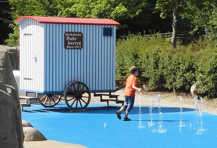 Fontänen Wasserspielplatz ・ Maritime Fountain Playground