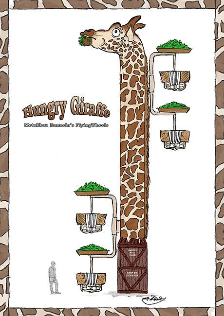 Giraffenturm Metallbau Emmeln