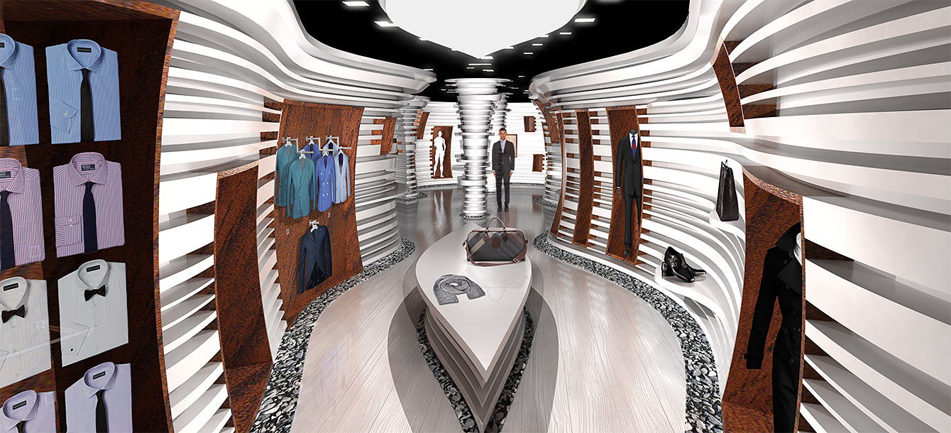 Boutique Renderings