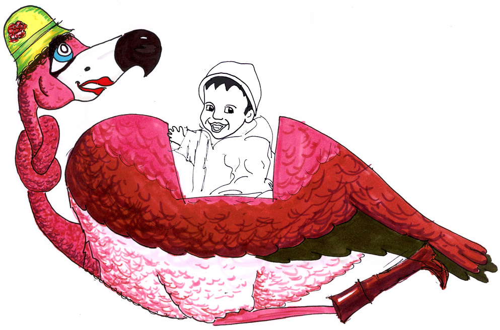 Flamingokarussell Metallbau Emmeln