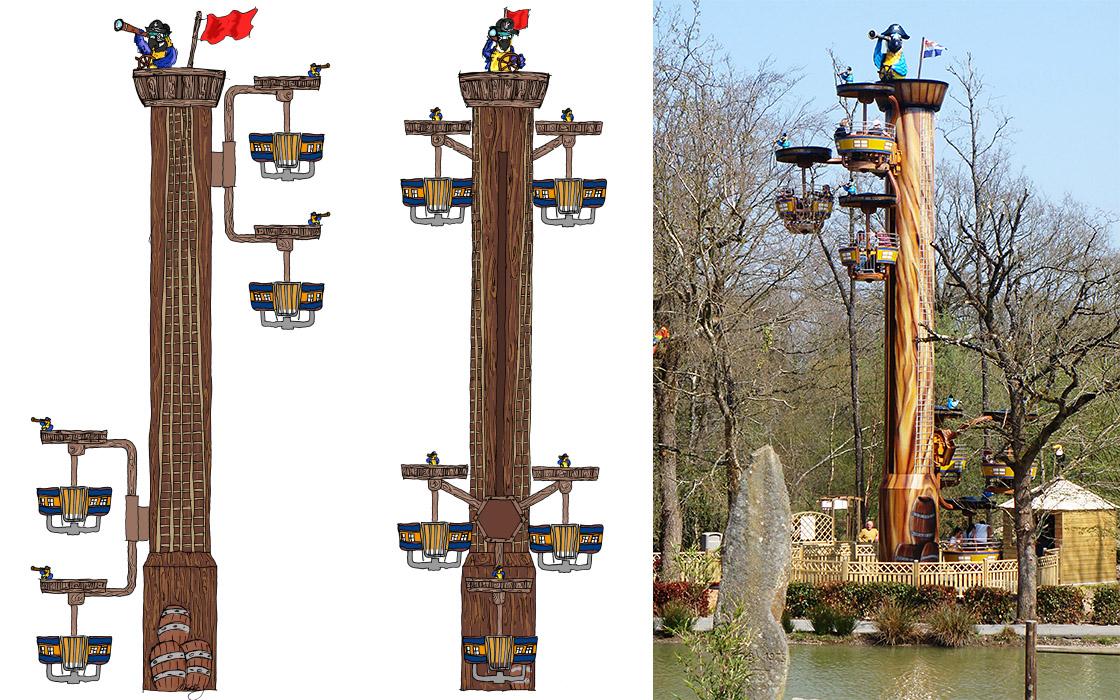 Tour de Gue im Cobac Parc Metallbau Emmeln Flying Wheels