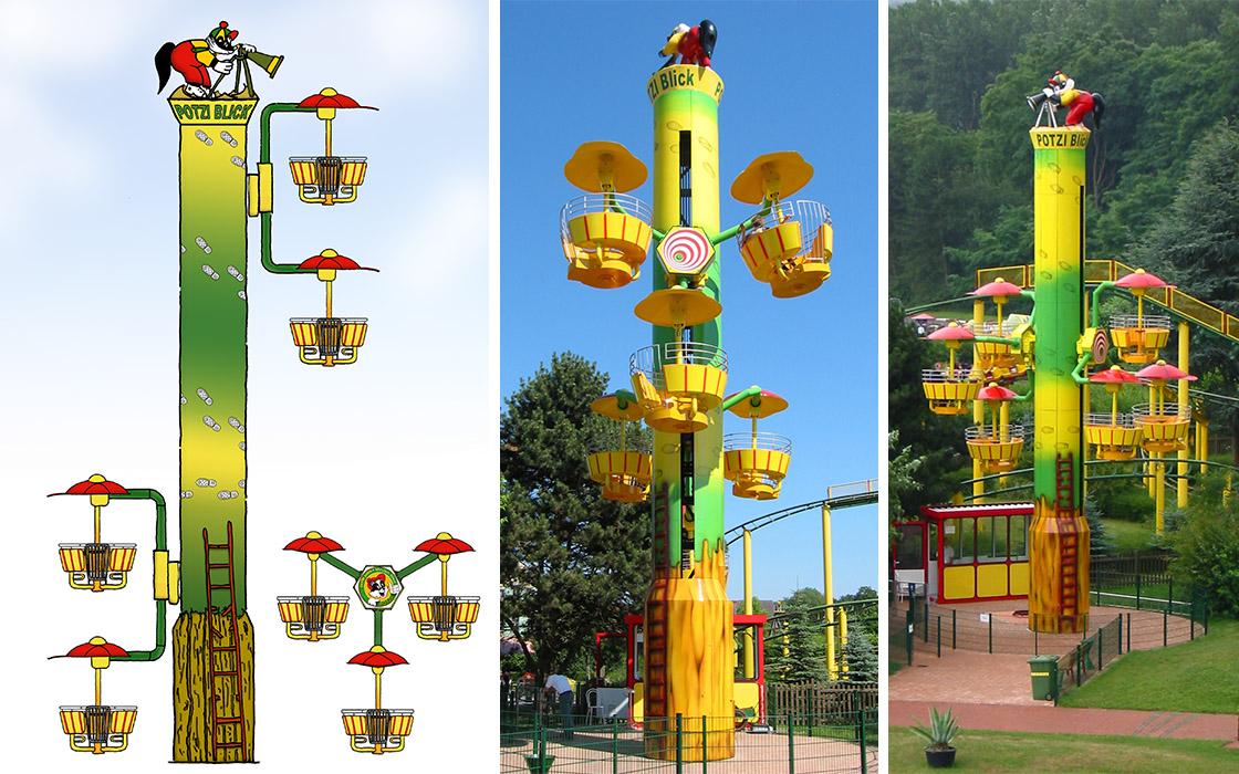 Metallbau Emmeln Flying Wheels im Potts Park Minden