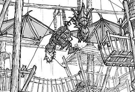 Legende des Hölzernen Drachen ・ Legend of the Wooden Dragon