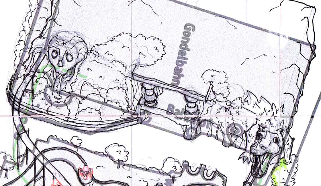 Phantasialand Parkplan - Phantasialand Parkmap