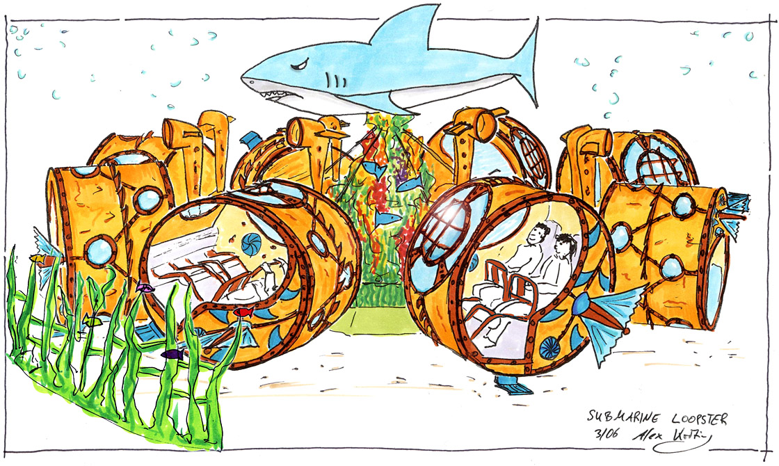 Heege Aquarium Unterwasser Loopster
