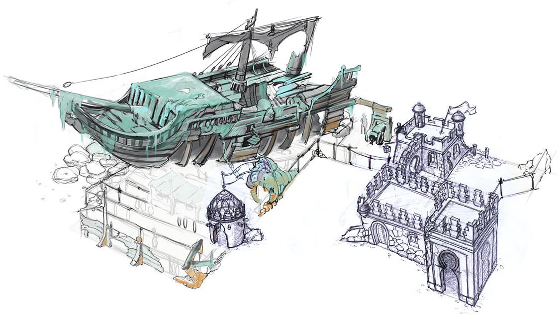 Piratenbucht Splash Battle Heide Park