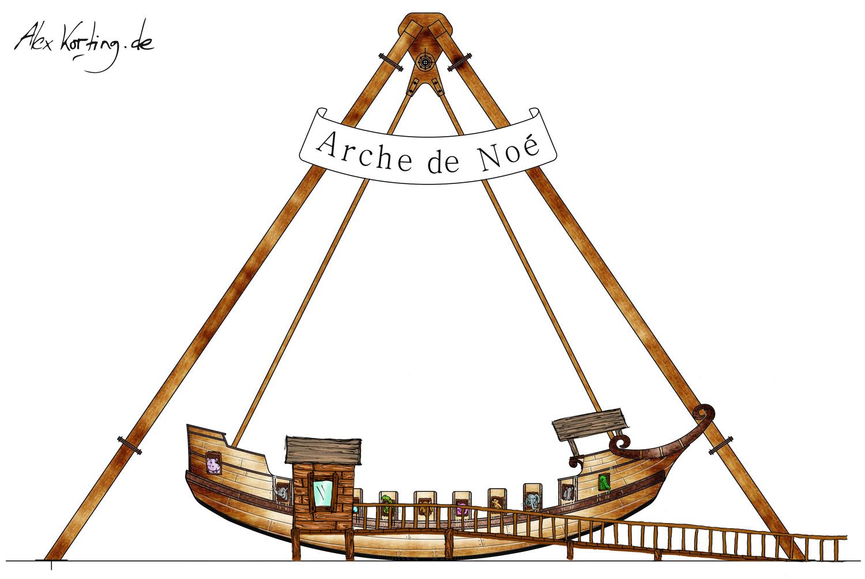 alex korting design portfolio themepark design parc saint paul arche de no. Black Bedroom Furniture Sets. Home Design Ideas